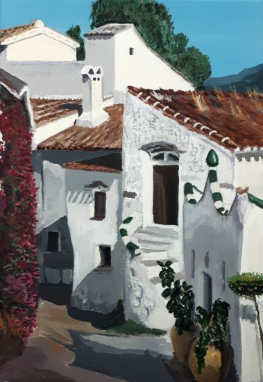 Typical house Andalusia