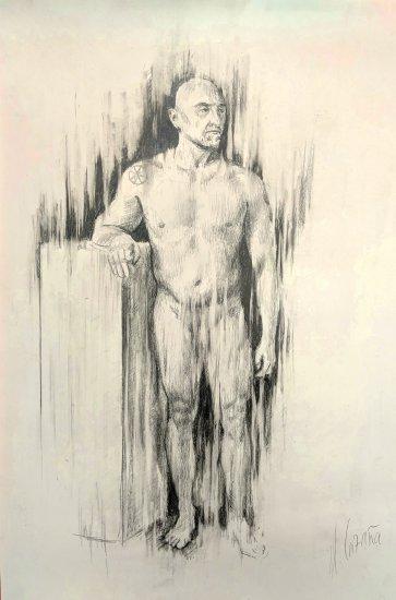 Desnudo semintegral masculino