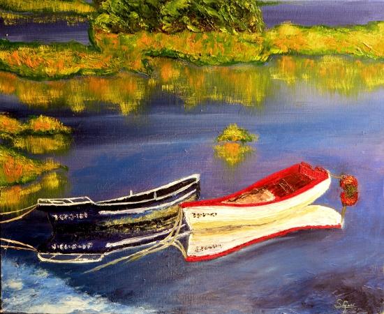 Dos barcas.
