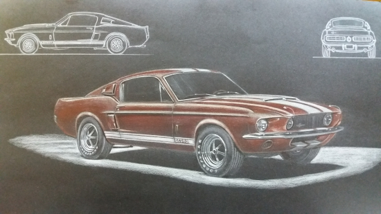 Shelby mustang GT 1967 500