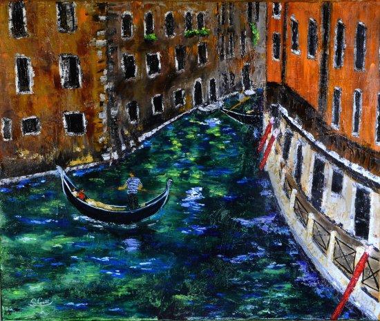 Los colores de Venecia.