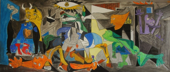 Guernica en color