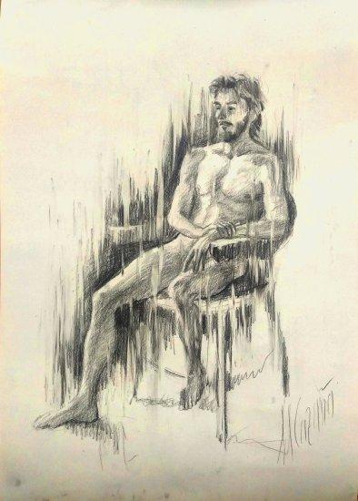 Figura humana masculina. Dibujos originales online