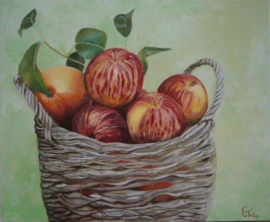 Canasto Manzanas