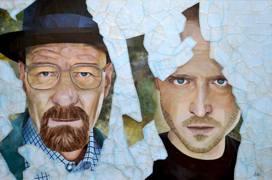 Collage BREAKING BAD