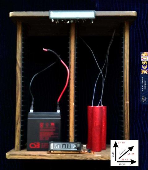 Jsus Art Deluxe deactivated pump