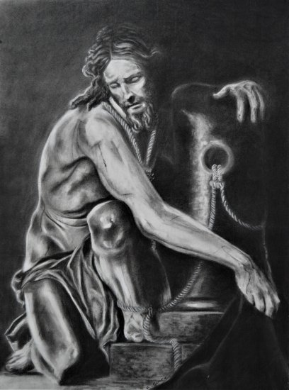 """Cristo recogiendo sus vestiduras"""
