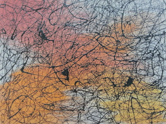 Brainstorming (80 x 60 cm.)