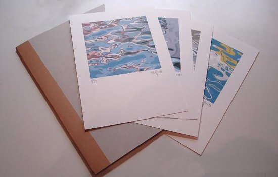 "LITHOGRAPH FOLDER. SERIES ""REFLECTIONS"""