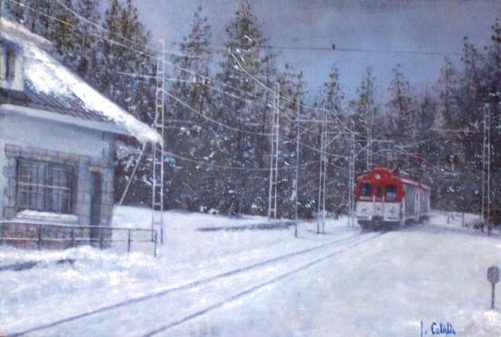 Nº 16. Estación de Cotos 33 x 46 cm.JPG
