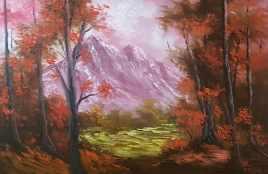 My destiny ... Painting, oil ... 15% DISCOUNT