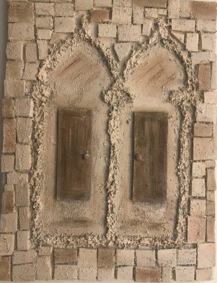 ZADAR WINDOW, OCRE