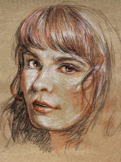 Retrato de Camila Moreno