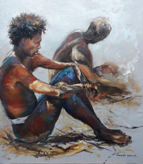 BOSQUIMANOS DE NAMIBIA