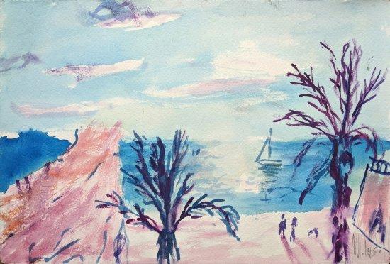 Es Baluard. Palma de Mallorca. Pinturas originales a mano