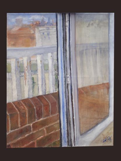 Serie: Nostalgia desde mi Balcón- Granada en Construcción/ Realismo