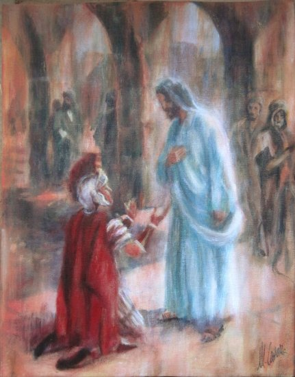 Jesus and the Centurion. Parable of the Centurion