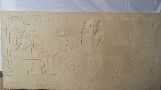 Relief: Music and sex in ancient Egypt.