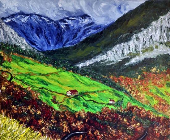 Valle del rio Gandara