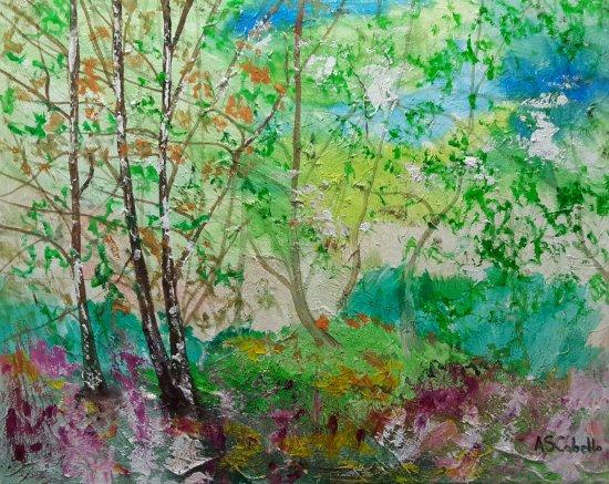 Flora en la natura de los bosques