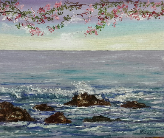 Spring with the sea