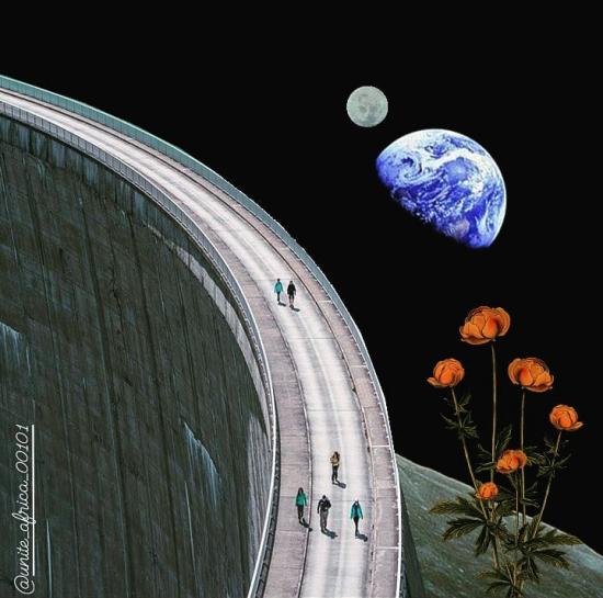Walk through space