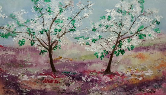 Floración de árboles