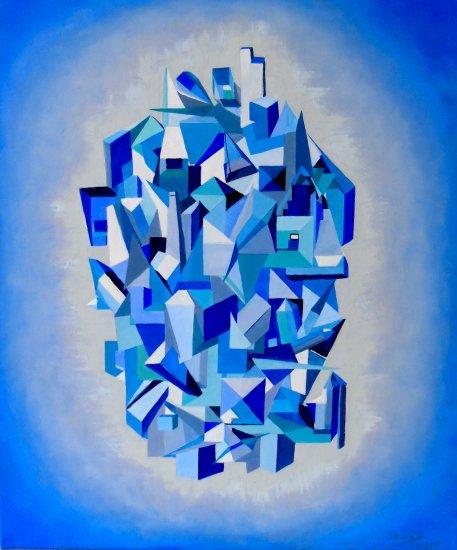 GEOMETRY IN BLUE