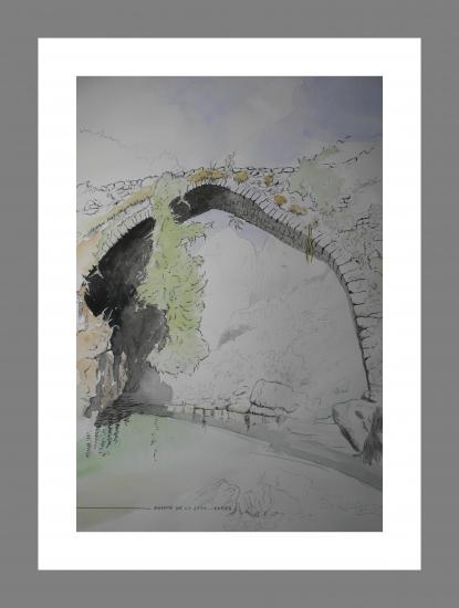 Bridge jaya, poncebos, asturias