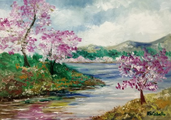 The river in spring