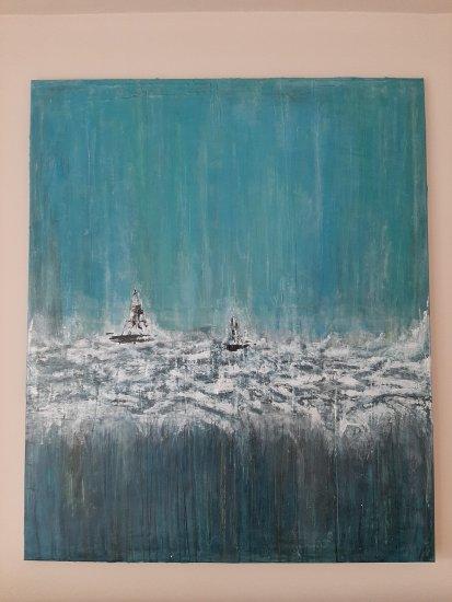 """"""" La magia del océano """", 120x100 cm, 450 euros"""
