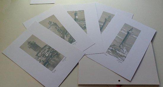 "Lithographs folder ""FAROS"""
