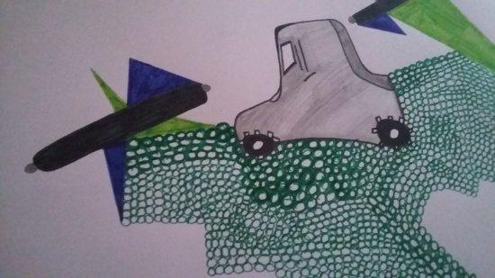 geometría y automóvil