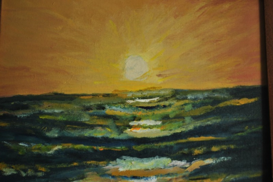 Sunset and melancholy