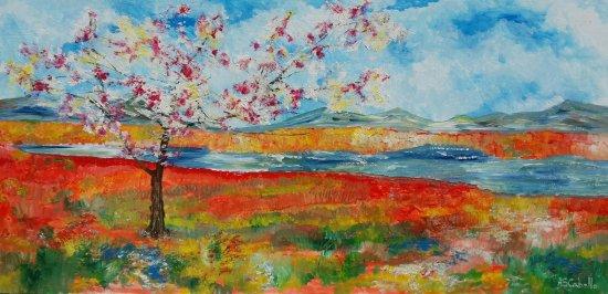 Campos de la primavera
