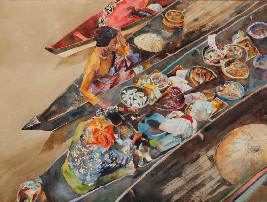 Mercado Acuático  41x31  2011.JPG