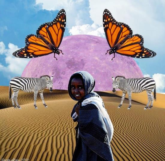The desert girl