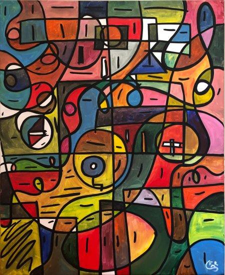 09. Renacimiento, 73x60cm, Acrílico sobre lienzo